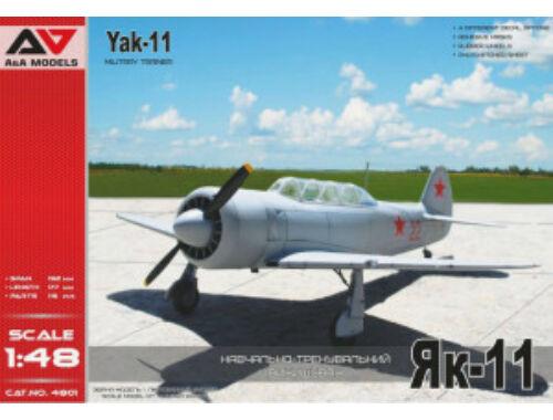 Modelsvit Yakovlev Yak-11 Military Trainer 1:48 (AA4801)