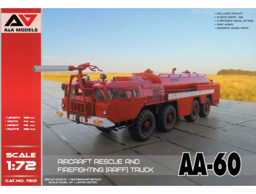 Lion Marc AA-60 Firefighting truck 1:72 (AA7201)