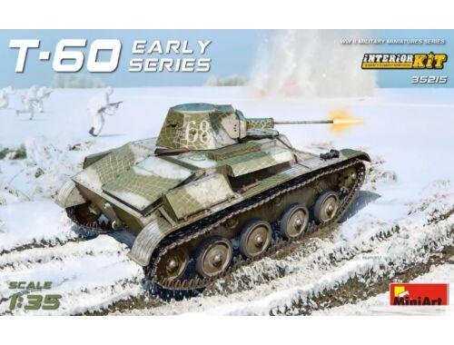 Miniart T-60 Early - Gorky Automobile Plant - Interior Kit 1:35 (35215)