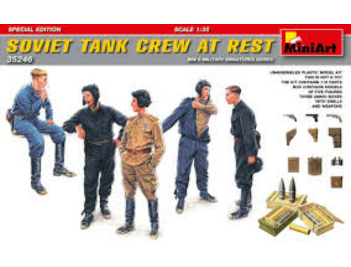Miniart Soviet Tank Crew at Rest.Special Edition 1:35 (35246)