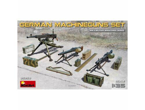 Miniart German Machineguns Set 1:35 (35250)
