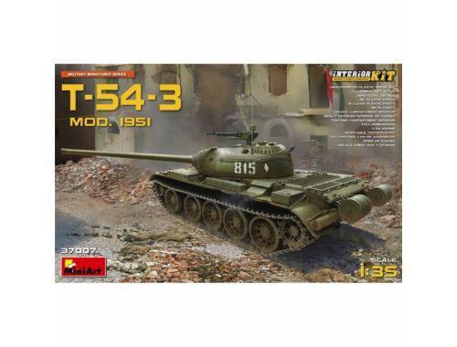 Miniart T-54-3 Mod.1951 Interior Kit 1:35 (37007)