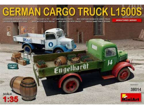 Miniart German Cargo Truck L1500S Type 1:35 (38014)