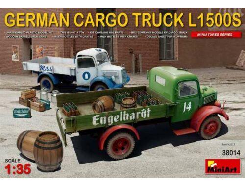 Miniart German Cargo Truck L1500S Type 1:35 (38014)