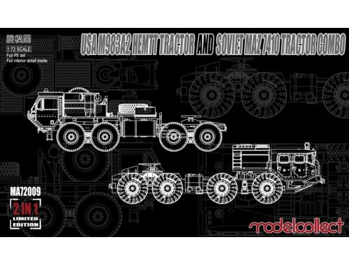 Modelcollect M983A2 HEMTT and MAZ 7410 COMBO -Limited Edition 1:72 (MA72009)