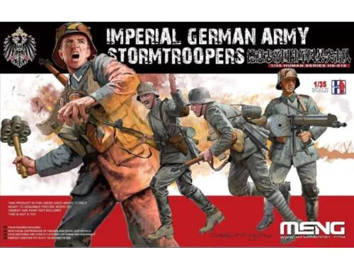 Meng Imperial German Army Stormtroopers 1:35 (HS-010)