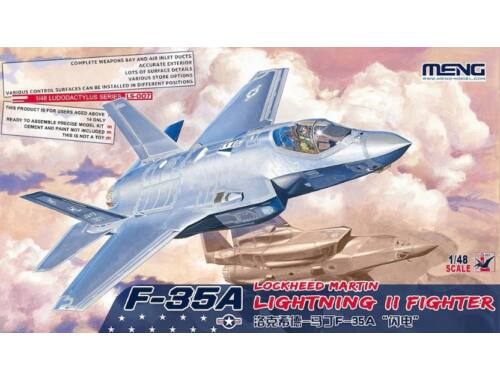Meng F-35A Lockheed Martin Lightning II Fight 1:48 (LS-007)