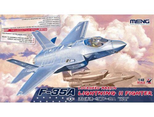 Meng F-35A Lockheed Martin Lightning II Fight 1:48 (LS-007)