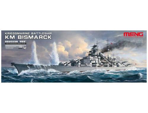 Meng Kriegsmarine Battleship KM Bismarck 1:700 (PS-003)
