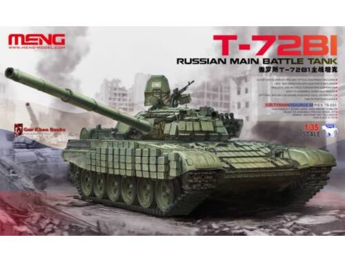 Meng Russian Main Battle Tank T-72B1 1:35 (TS-033)