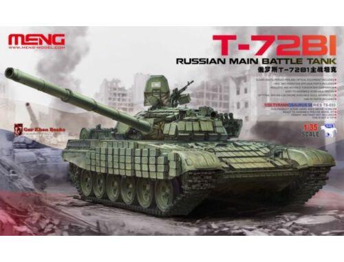 Meng Russian Main Battle Tank T-72B1 1:35 (TS-033)