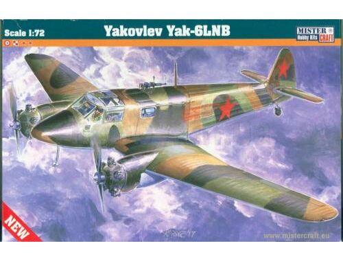 Mistercraft Yakovlev Yak-6 LNB 1:72 (D-29)