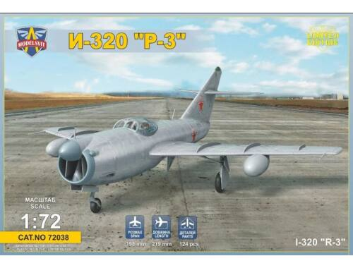 "Modelsvit I-320""R-3"" All-weather interceptor prototype 1:72 (72038)"