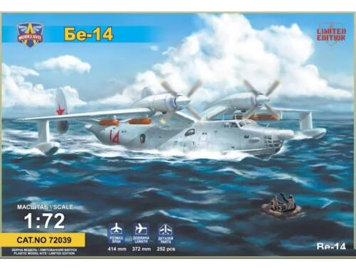 Modelsvit Beriev Be-14 all-weather SAR flying boat 1:72 (72039)