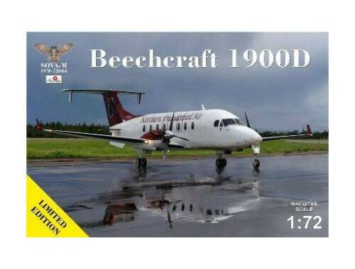 Modelsvit Beechcraft 1900D Northern Thunderbird Air C-FDTR 1:72 (SVM-72004)