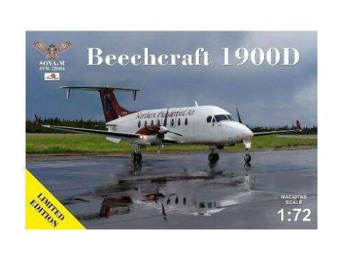 Modelsvit Beechcraft 1900D Northern Thunderbird Air C-FDTR 1:72 (SVM-72004)