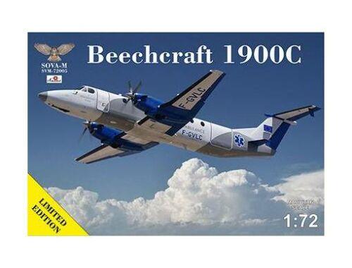 Modelsvit Beechcraft 1900C-1 Ambulance F-GVLC 1:72 (SVM-72005)