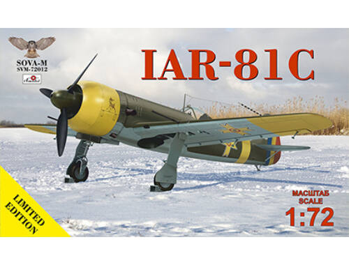Modelsvit IAR-81C (no.320,323,343,344) 1:72 (SVM-72012)