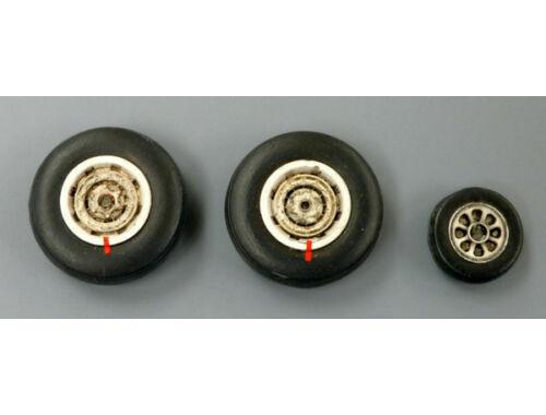 Plus Model Wheels for P2V Neptune 1:72 (AL7018)