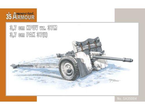 Special Hobby Cannon 3,7cm KPUV vz.37cm Pak M 37 (t) 1:35 (SA35004)