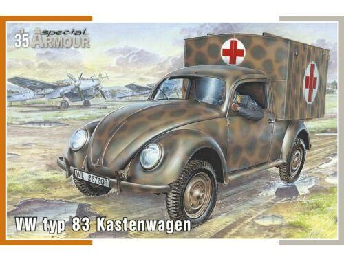 Special Hobby VW typ 83 Kastenwagen 1:35 (35005)