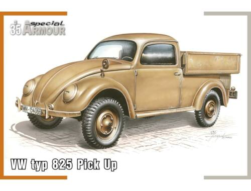 """Special Hobby VW type 825 """"Pick Up"""" 1:35 (35007)"""