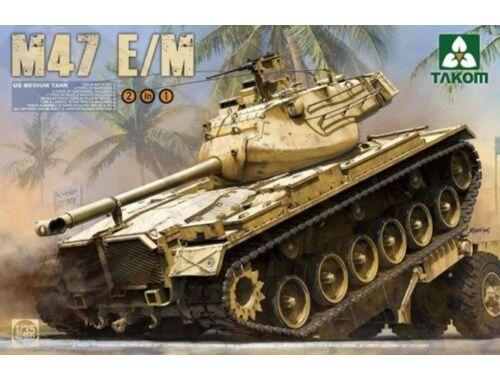 Takom US Medium Tank M47 E/M 2 in 1 1:35 (2072)