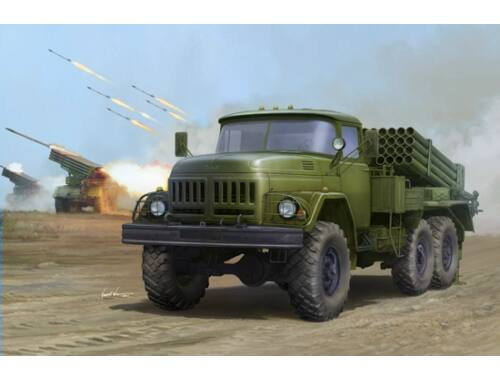 Trumpeter Russian 9P138 Grad-1 on Zil-131 1:35 (1032)