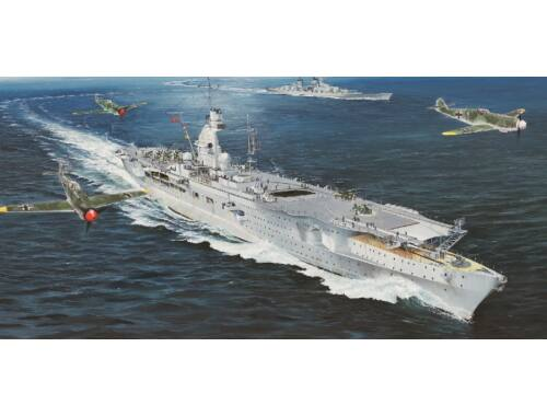 Trumpeter German Navy Aircraft Carrier DKM Peter Strasser 1:350 (5628)