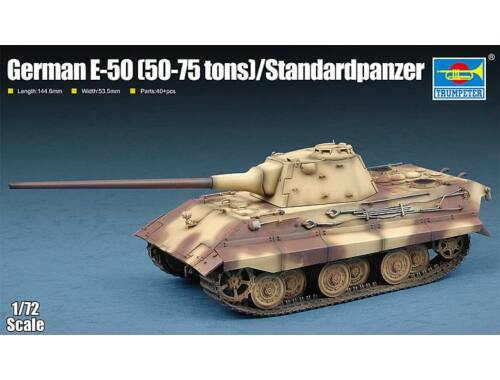Trumpeter German E-50(50-75 tons)/Standardpanzer 1:72 (7123)