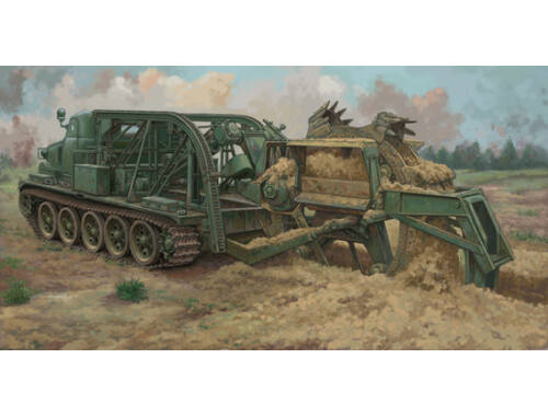 Trumpeter BTM-3 High-Speed Trench Digging Vehicle 1:35 (09502)