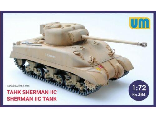 Unimodel Medium Tank Sherman IIC 1:72 (384)
