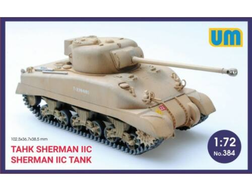 Unimodel Medium Tank Sherman IIC 1:72 (384)