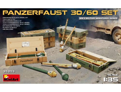 Miniart Panzerfaust 30/60 set 1:35 (35253)