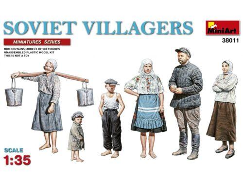 Miniart Soviet Villagers 1:35 (38011)