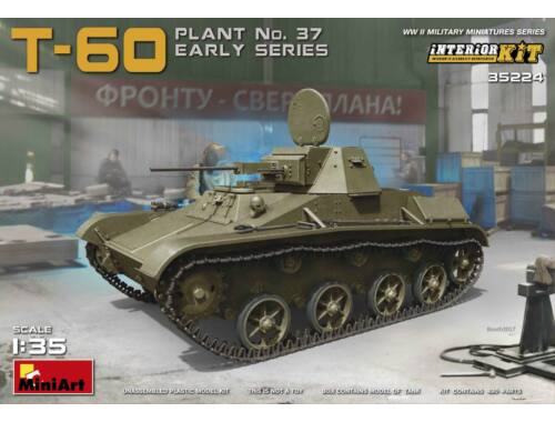 Miniart Soviet T-60 Plant No.37 Early 1:35 (35224)