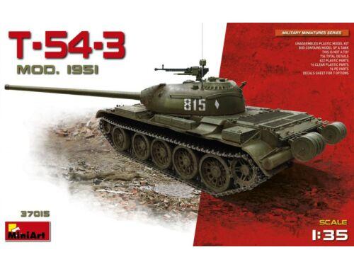 Miniart Soviet T-54-3 Mod. 1951 1:35 (37015)