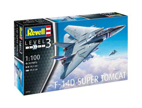 Revell F-14D Super Tomcat FALL ITEM 1:100 (3950)