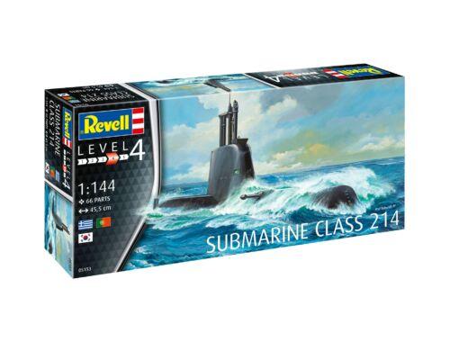 Revell Submarine Class 214 1:144 (5153)