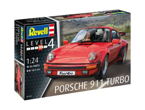 Revell Porsche 911 Turbo FALL ITEM CAR 1:25 (7179)