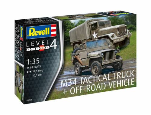 Revell M34 Tactical Truck Off Road Vehicle 1:35 (3260)