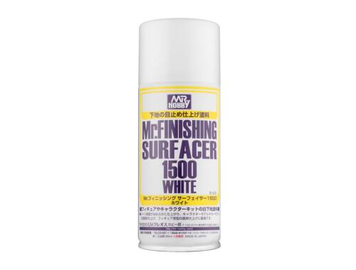 Mr.Hobby Mr.Finishing Surfacer Spray 1500 White B-529