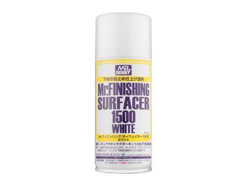 Mr.Hobby Mr.Finishing Surfacer Spray 1500 White B-529