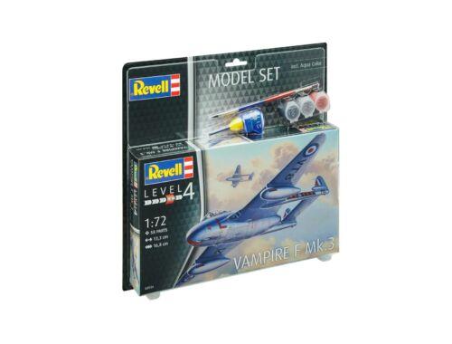 Revell Model Set Vampire F Mk.3 1:72 (63934)