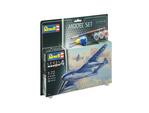 Revell Model Set Vampire F Mk.3 1:72 (63934)