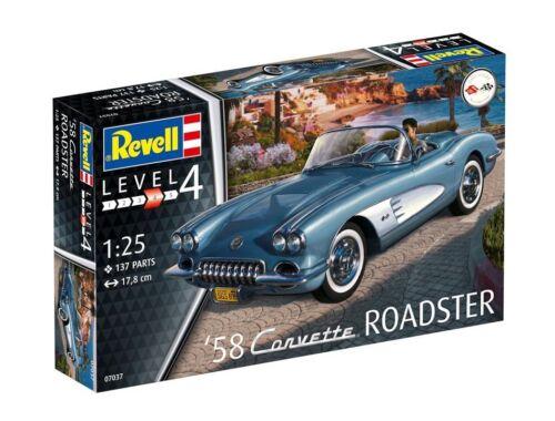 Revell '58 Corvette Roadster 1:25 (7037)