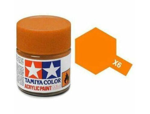 Tamiya AcrMini X-6 Orange (81506)