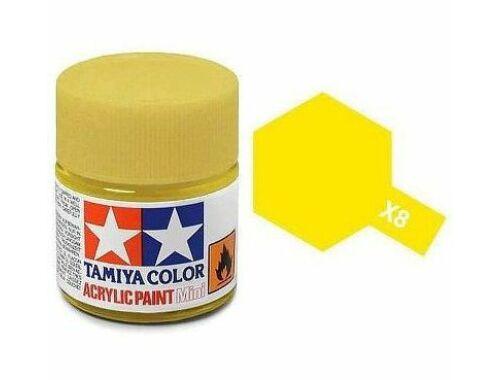 Tamiya AcrMini X-8 Lemon Yellow (81508)
