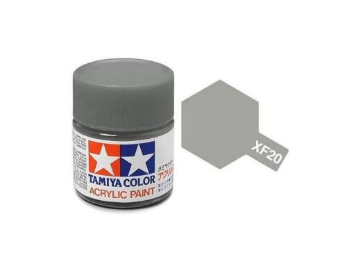 Tamiya AcrMini XF-20 Medium Grey (81720)