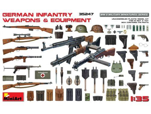 Miniart German Infantry Weapons   Equipment 1:35 (35247)